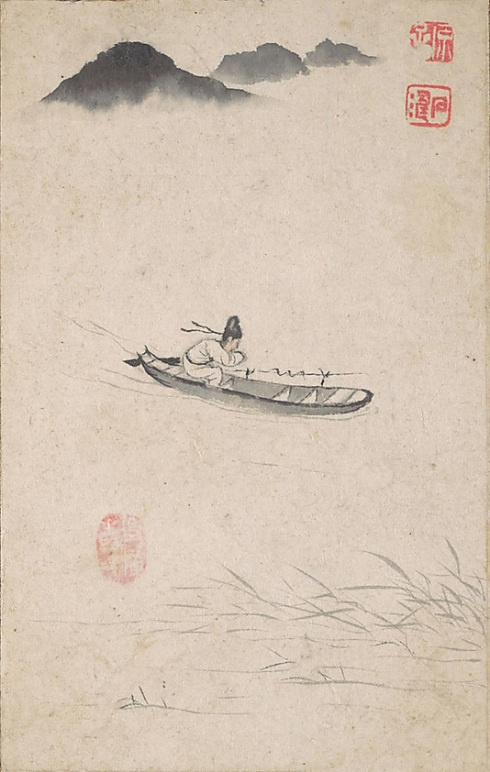 """Returning Home"" Shitao  (Chinese, 1642–1707).  Image courtesy of the Metropolitan Museum of Art"
